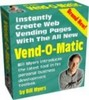 Thumbnail VEND O MATIC  Automatic Web Page Builder