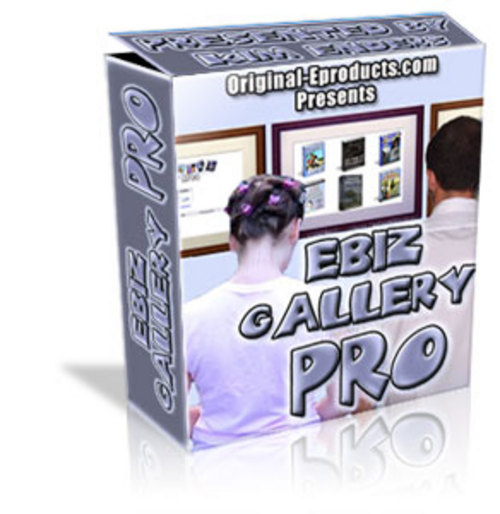 Product picture Ebiz Gallery Pro